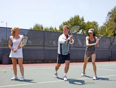 1 Hour Tennis Lesson at Dial Jones Tennis Academy